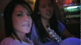 Two Beautiful Girls Trying Hookah